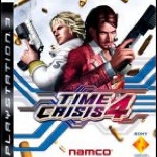 Time Crisis 4 + G-con 3 -pistooliohjain