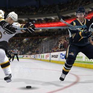 NHL 09:n uutta kuvastoa