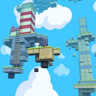 Ulottuvuuksilla leikkivä Fez ensi vuonna Xbox 360:lle