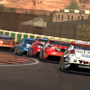 Kuvissa Forza 3:n V8 Supercar -kaarat