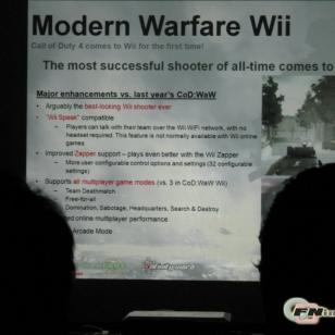 Huhu: Modern Warfareen tulossa WiiSpeak -tuki