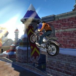 Ryo Hazuki radalle Sonicin kanssa