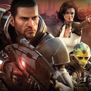 Mass Effect 2 kahdella DVD:llä