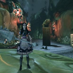 Alice: Madness Returnsin mukana latauskoodi ensimmäiseen peliin