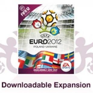 Jalkapallon Euroopan-mestaruuskilpailu ladattavana laajennuksena FIFA 12:sta