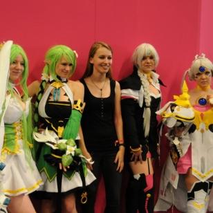 Gamescom: Koreat cosplay-tytöt