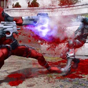 Deadpool-pelin uusissa kuvissa roiskitaan verta ja tavataan sarjakuvista tuttu rautanaama