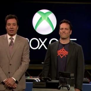 Xbox One Jimmy Fallonin käsittelyssä