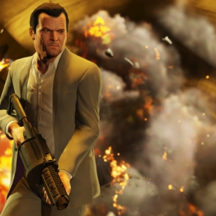 Tuoreita kuvia pelistä GTA V