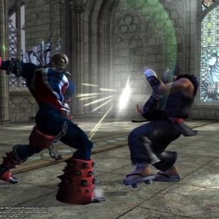 Spawn ja Heihachi ensimmäistä kertaa samaan kehään