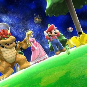 Super Smash Bros. matkaa Mario Galaxyn maailmaan