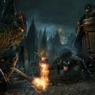 Vuodettua pelikuvaa PlayStation 4 -yksinoikeupelistä Bloodborne