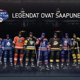 Jari Kurri ja muut legendat palaavat jäälle NHL 15:ssä