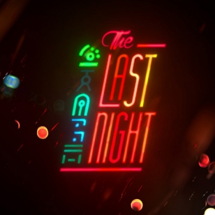 The Last Night logo nostokuva