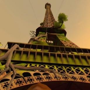 Eagle Flight, Pariisin tunnetuin maamerkki