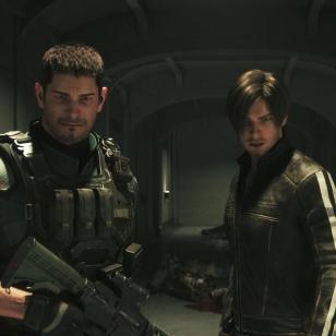 Resident Evil: Vendetta Chris Leon