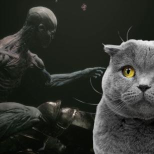 Mortal Shell cat