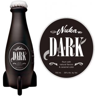 Fallout Nuka Dark Rum pullo rommi