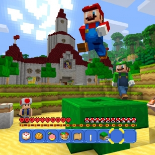 Minecraft Wii U Edition Super Mario DLC