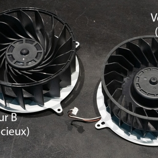 PS5 tuulettimet KUVA Les Numériques