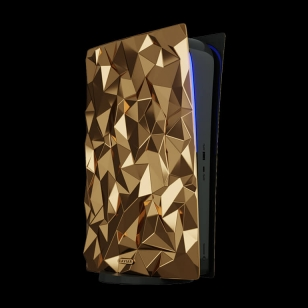 Golden Rock Caviar kultainen PlayStation 5