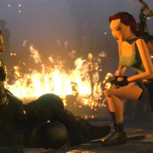 Rise of the Tomb Raider PS4 vanha lara