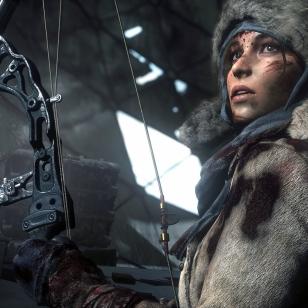 Rise of the Tomb Raider PS4 talviturkki
