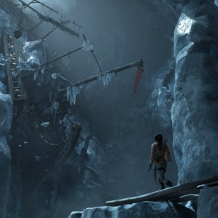 Rise of the Tomb Raider PS4 laiva