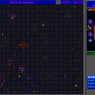 Star Control 2 - Tähtikartta