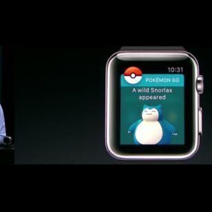 Pokémonn Go Apple Watch