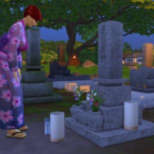 The Sims 4 Lumisten vuorten maa