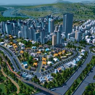 cities skylines kaupunkikuva