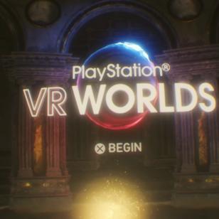 PlayStation VR Worlds pääaula