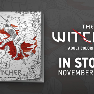 The Witcher: Adult Coloring Book