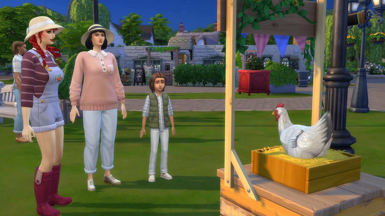 The Sims 4 Maalaiselämää