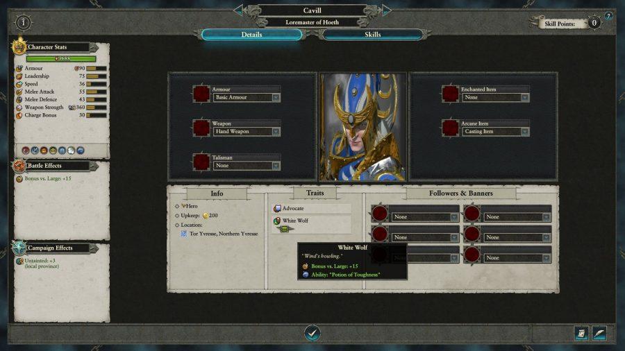 Total War: Warhammer 2 Cavill