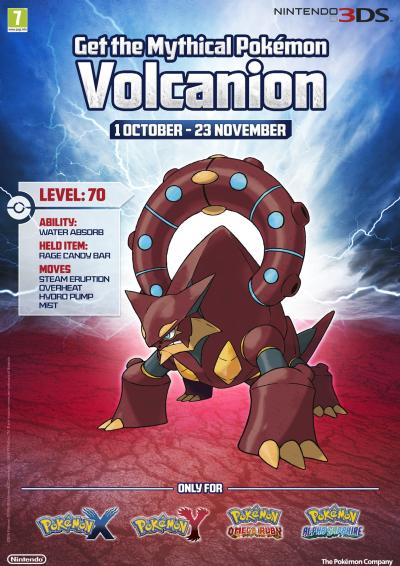 Volcanion Pokémon