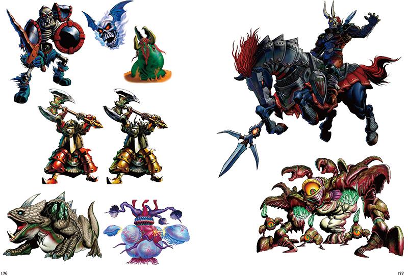 The Legend of Zelda: Art & Artifacts esimerkkisivu 2